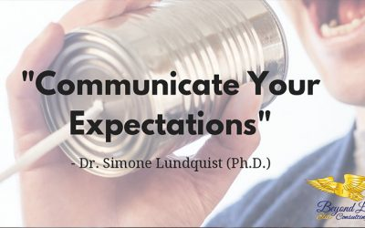 Communicate your Expectations